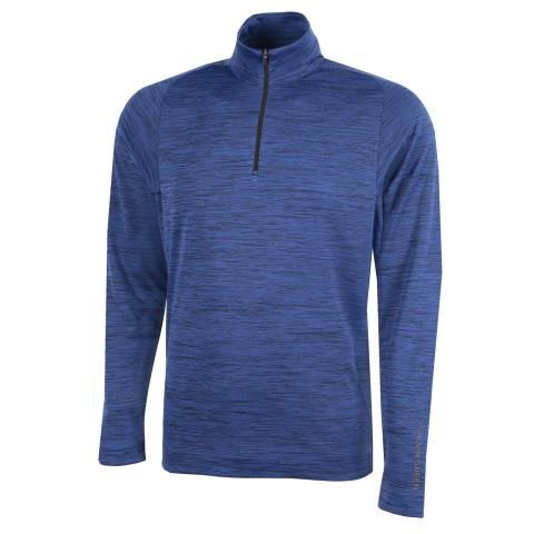 Galvin Green Dixon Insula Half Zip Sweater Surf Blue