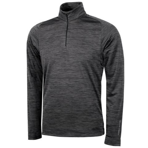 Galvin Green Dixon Insula Half Zip Sweater Black