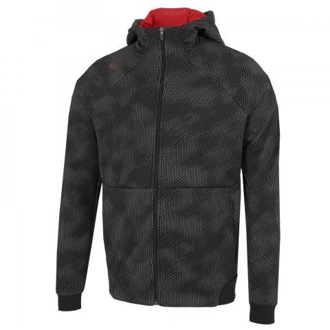 Galvin Green Dolph Insula Full Zip Hoodie Black/Red