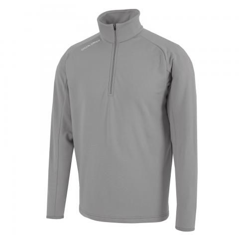Galvin Green Drake Insula Half Zip Sweater Sharkskin