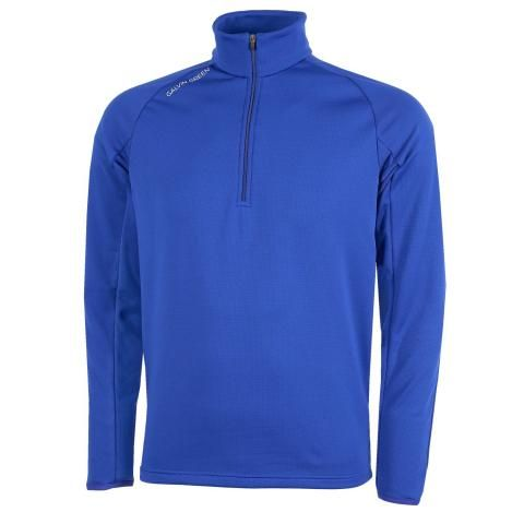 Galvin Green Drake Insula Half Zip Sweater Surf Blue