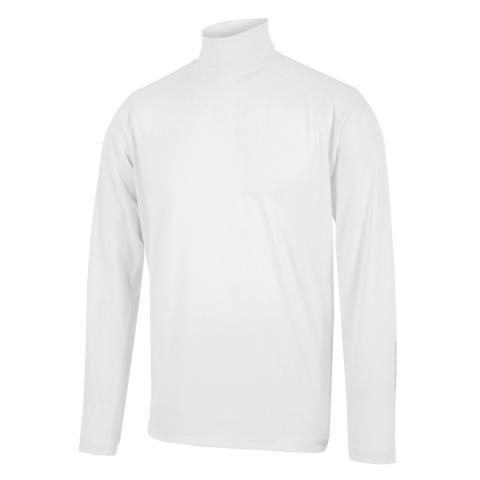 Galvin Green Edwin Skintight Thermal Roll Neck White