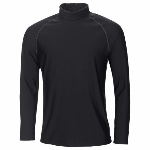 Galvin Green Edwin Skintight Thermal Roll Neck Black/Red