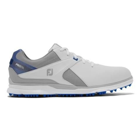FootJoy Pro SL Golf Shoes #53811 White/Grey/Royal Blue