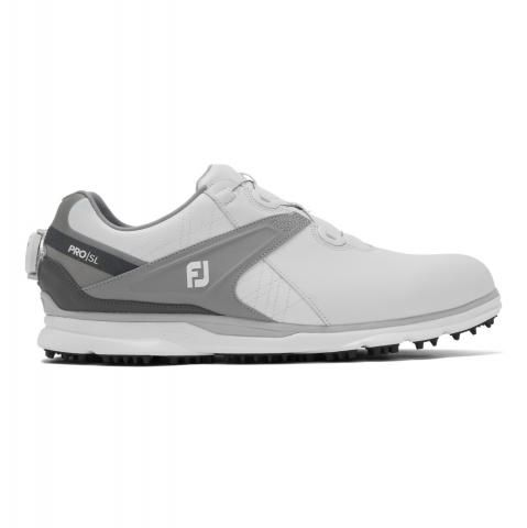FootJoy Pro SL BOA Golf Shoes #53817 White/Grey