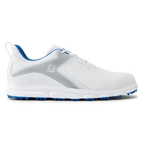 FootJoy SuperLites XP Golf Shoes #58060 White/Grey/Blue
