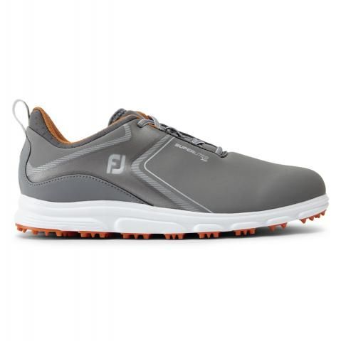 FootJoy SuperLites XP Golf Shoes #58073 Grey/Orange