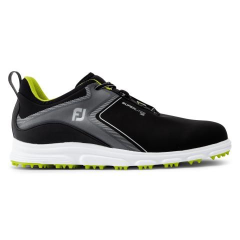 FootJoy SuperLites XP Golf Shoes #58075 Black/Lime
