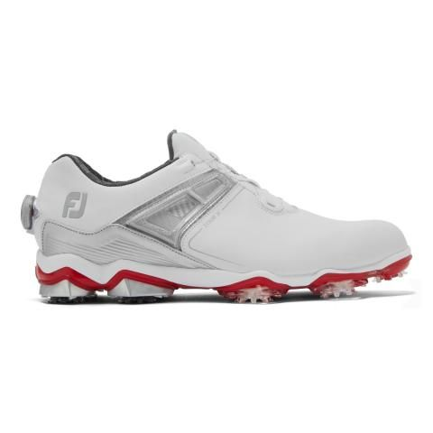 FootJoy Tour X BOA Golf Shoes #55406 White/Grey