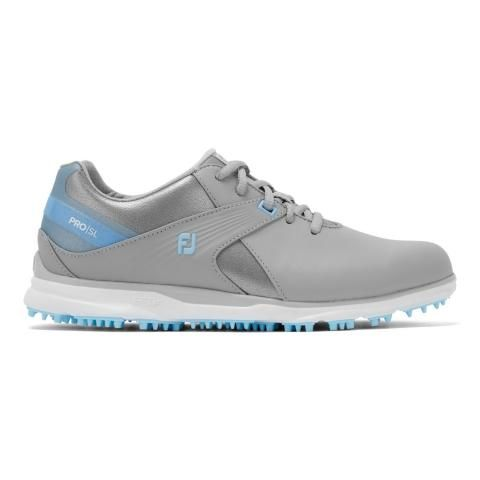 FootJoy Pro SL Ladies Golf Shoes #98118 Grey/Light Blue