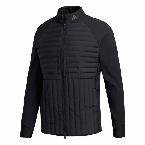 adidas Frostguard Full Zip Insulated Golf Jacket Black