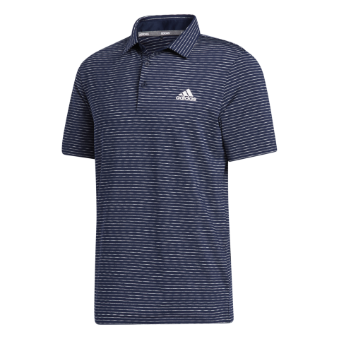 adidas Ultimate365 Space Dry Stripe Polo Shirt