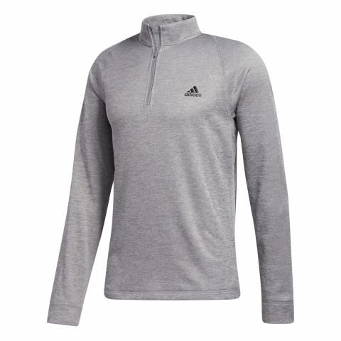 adidas Midweight Zip Neck Golf Sweater