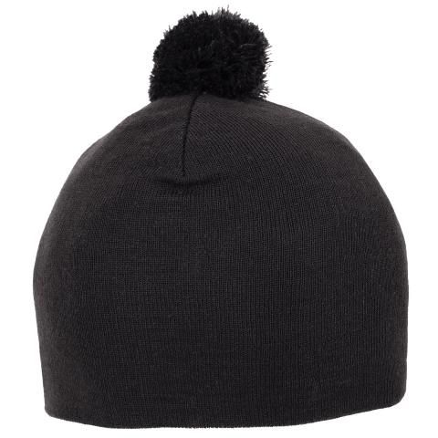 Galvin Green Lemmy Interface-1 Knitted Bobble Hat Black