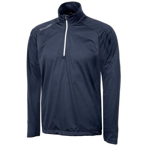 Galvin Green Lex Interface-1 Half Zip Navy