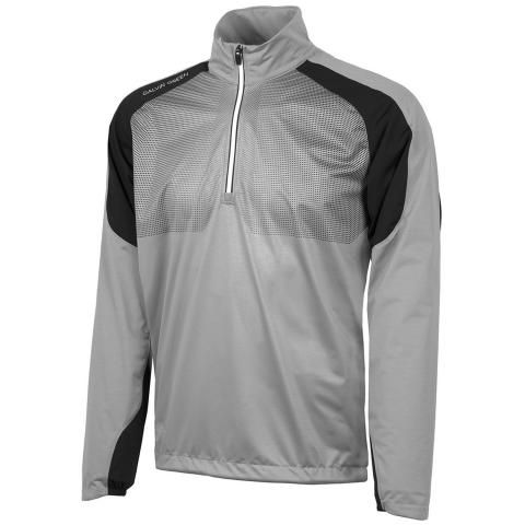 Galvin Green Lex Interface-1 Half Zip Sharkskin/Black