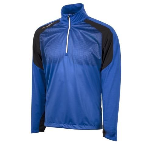 Galvin Green Lex Interface-1 Half Zip Surf Blue/Black