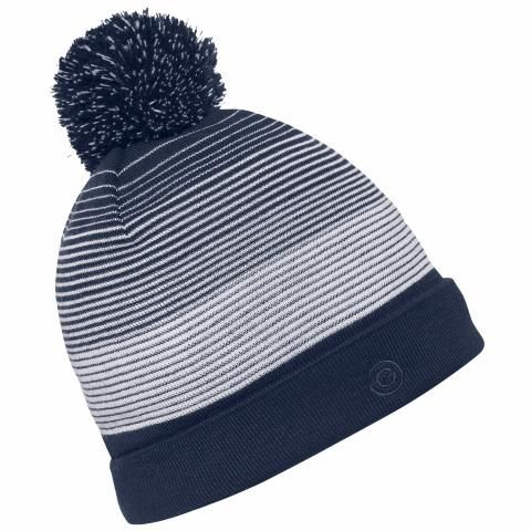 470993aadc3 Galvin Green Louise Interface Windproof Bobble Hat Navy White  40.00