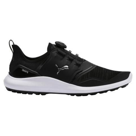 9f1fccc54e7 Puma IGNITE NXT DISC Golf Shoes Puma Black Puma Silver Puma White