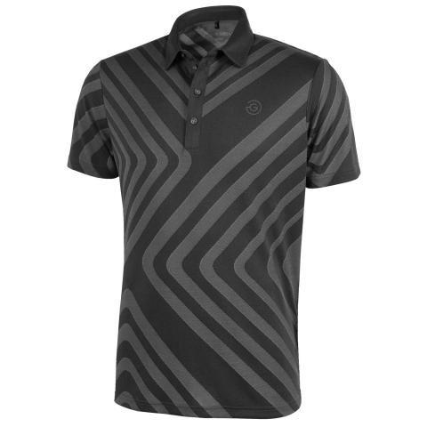 Galvin Green Malone Ventil8 Plus Polo Shirt Black