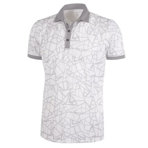Galvin Green Markell Ventil8 Plus Polo Shirt White/Light Grey