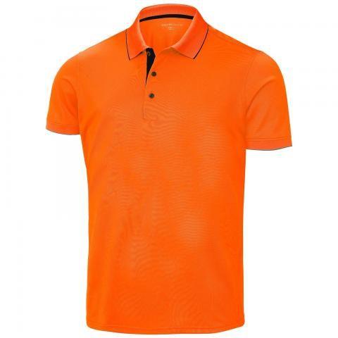 Galvin Green Marty Ventil8 Plus Polo Shirt Red Orange/Black