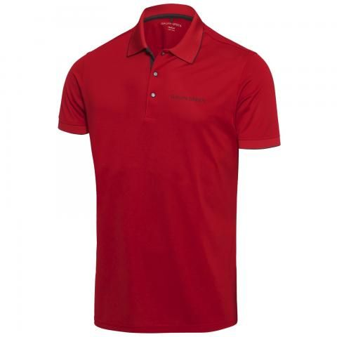 Galvin Green Marty Tour Edition Ventil8 Plus Polo Shirt Red/Black