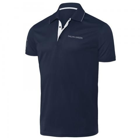 Galvin Green Marty Tour Edition Ventil8 Plus Polo Shirt Navy/White