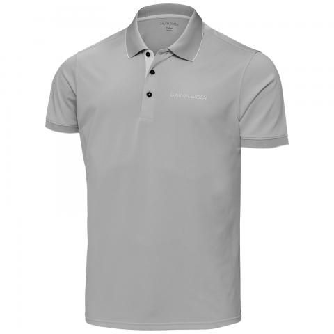 Galvin Green Marty Tour Edition Ventil8 Plus Polo Shirt Sharkskin/Black