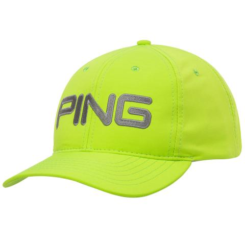 PING Tour Lite Unstructured Adjustable Baseball Cap Lime