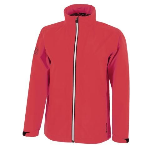 Galvin Green River Gore-Tex Paclite Junior Waterproof Golf Jacket Red/Black