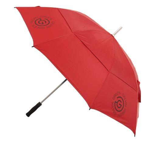 Galvin Green Tromb Double Canopy Umbrella Red/Silver