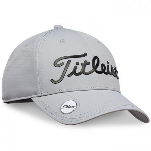 Titleist Performance Ball Marker Adjustable Golf Cap Grey/Black