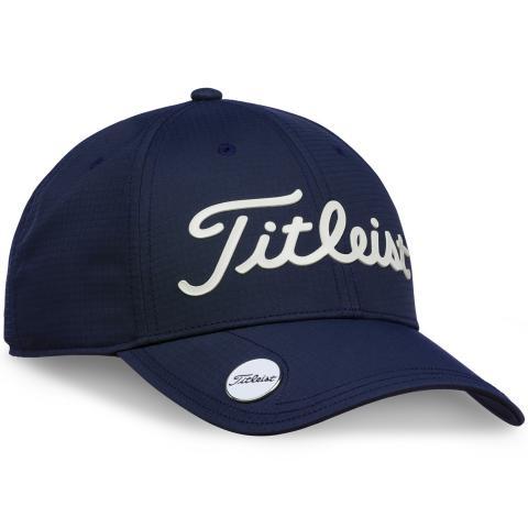 Titleist Performance Ball Marker Adjustable Golf Cap Navy/White