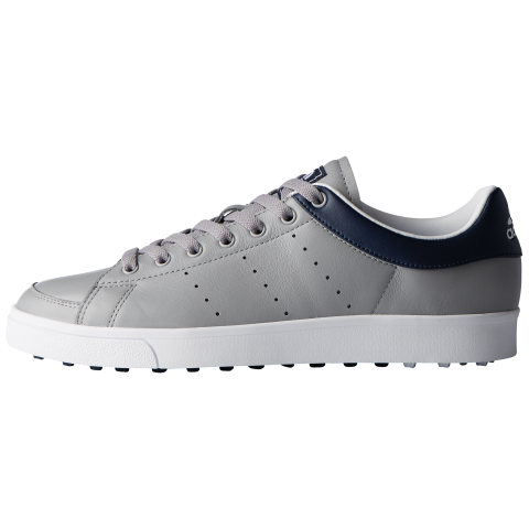fc07e2bf3 adidas AdiCross Classic Leather Golf Shoes Light Onix Collegiate Navy
