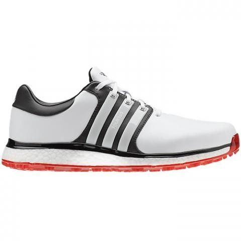 4ebe04e41ffd25 adidas Tour360 XT SL Golf Shoes White/Black/Scarlet
