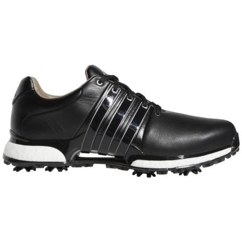 best service 0851e 557ad adidas Tour360 XT Golf Shoes Core Black Silver Metallic