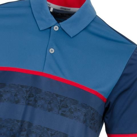7fe95c86 adidas ClimaCool 2D Camo Stripe Polo Shirt Dark Slate | Scottsdale Golf
