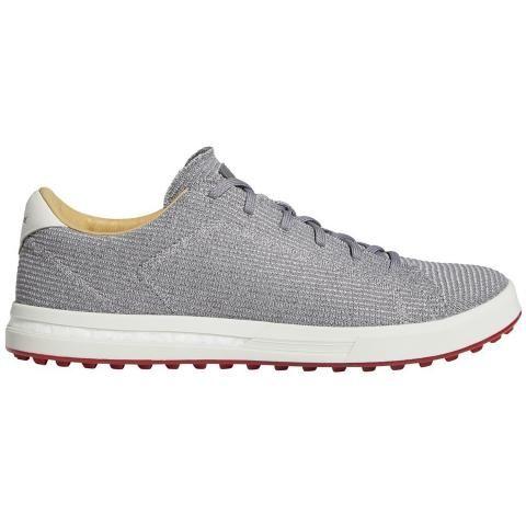 adidas AdiPure SP Knit Golf Shoes Grey Three/Silver Metallic/Orbit Grey