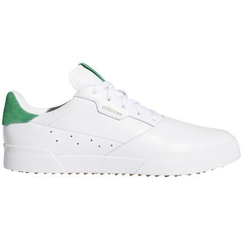 adidas Adicross Retro Golf Shoes White/Green/Gum