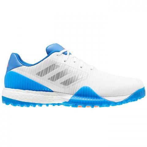 adidas CODECHAOS Sport Golf Shoes Cloud White/Silver Metallic/Glory Blue