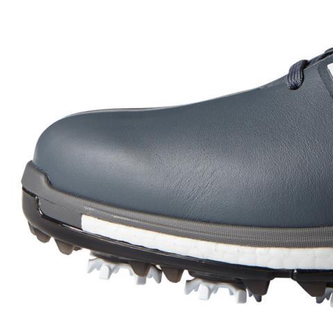 adidas tour360 impulso scarpe da golf onix / bianco / rosso scottsdale golf shock