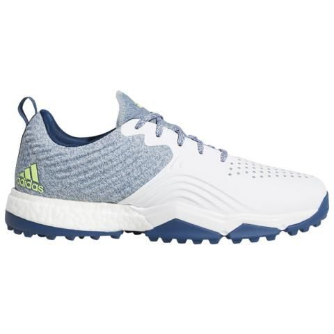 bc9dacb4892 adidas adipower 4orged S Golf Shoes Legend Marine White Hi-Res Yellow.   107.00. adidas adicross Bounce Leather Golf Shoes Core Black White