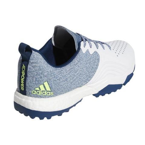 adidas adipower 4orged S Golf Shoes. Legend Marine White Hi-Res Yellow b3b9b4952
