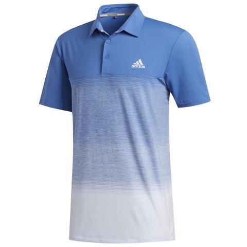 adidas Ultimate 365 Print Polo Shirt Trace Royal/Sky Tint