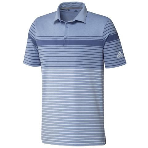 adidas Ultimate 365 Engineered Polo Shirt Trace Royal/Sky Tint/Light Blue