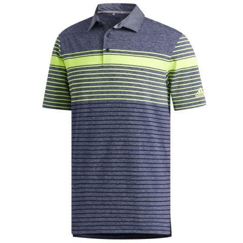 adidas Ultimate 365 Engineered Polo Shirt Solar Yellow/Collegiate Navy