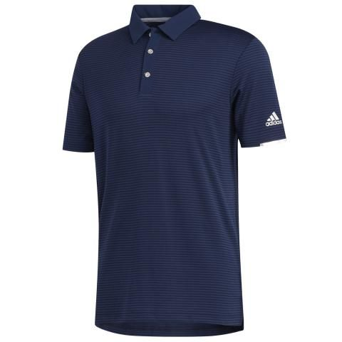 adidas HEAT.RDY Stripe Polo Shirt Collegiate Navy