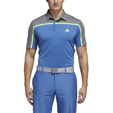 adidas Ultimate 365 3-Stripes Polo Shirt