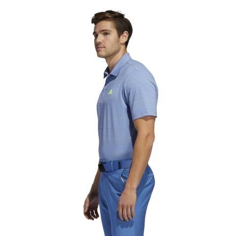 adidas Ultimate 365 Heathered Stripe Polo Shirt